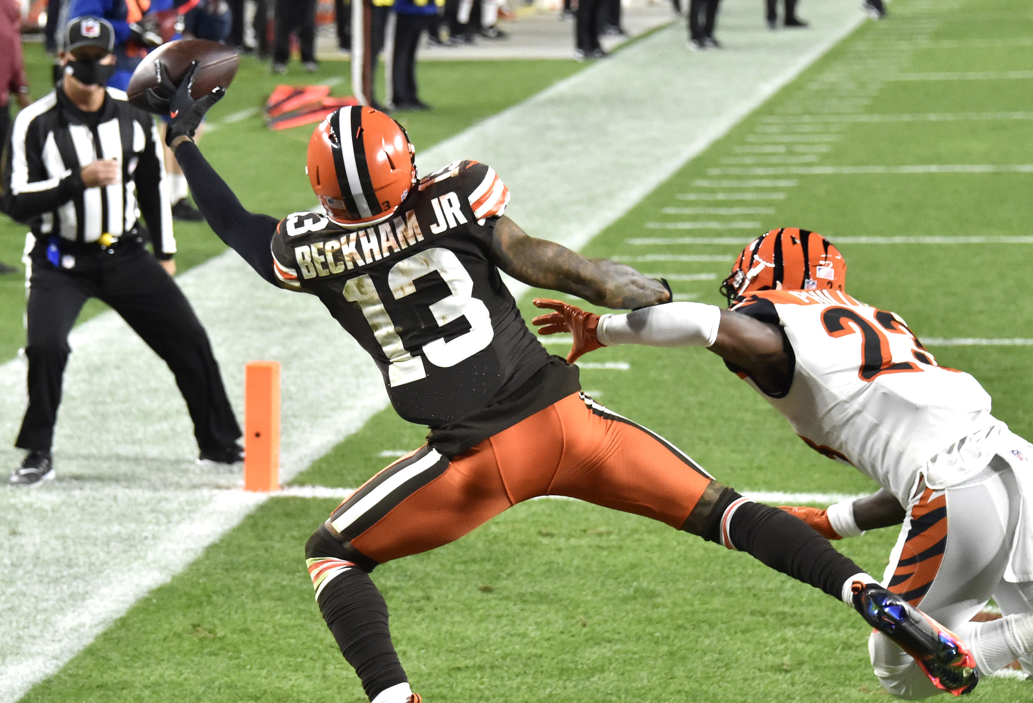Baker Mayfield TD pass to Odell Beckham Jr. leads Browns past Bengals