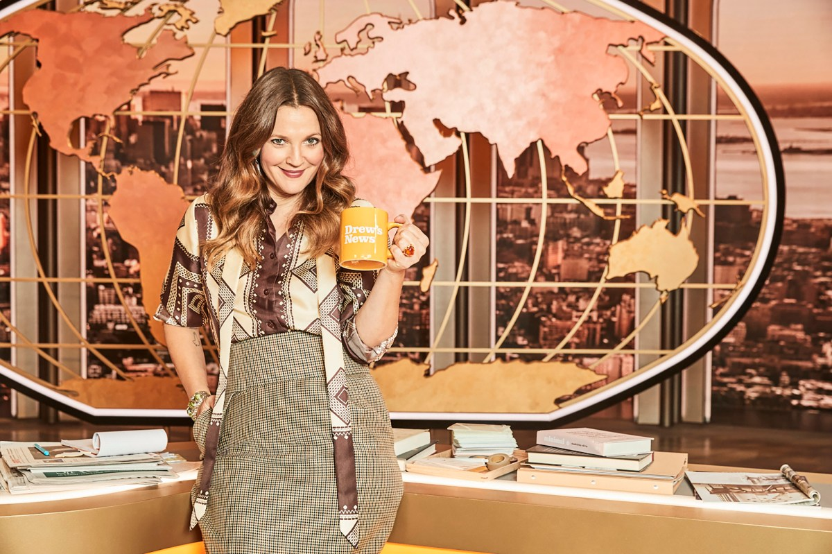 Drew Barrymore on her new talk show: 'The rule book is on fire'