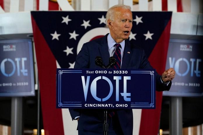 Joe Biden says he is 'not a fan of court-packing'
