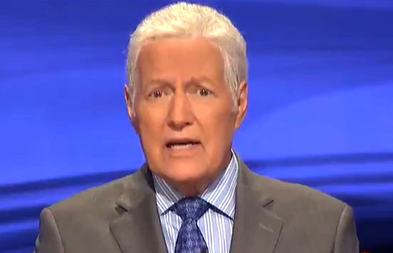 Alex Trebek makes surprise appearance at 2020 NHL Draft