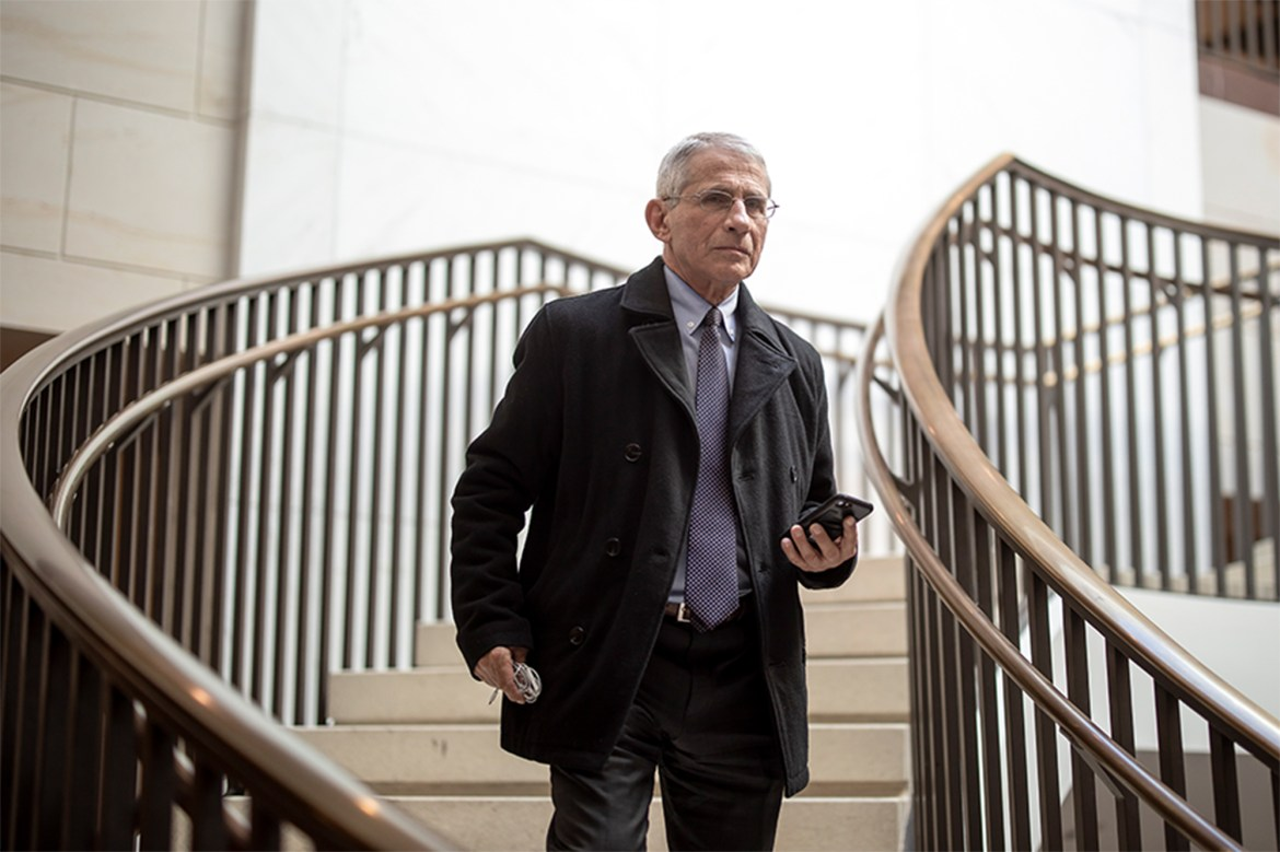 Fauci: COVID-19 taskforce only meets weekly despite US case surge 1