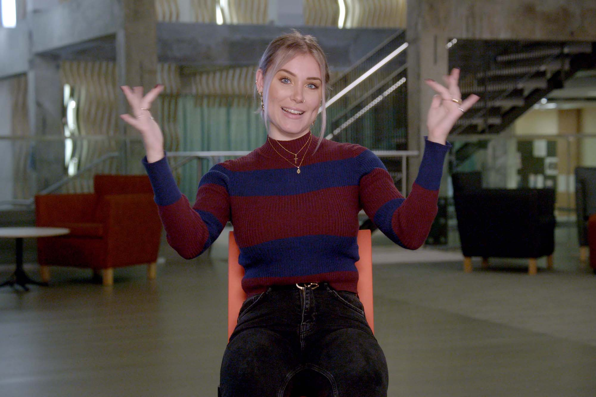 Deaf college students shine in Netflix's new series 'Deaf U'