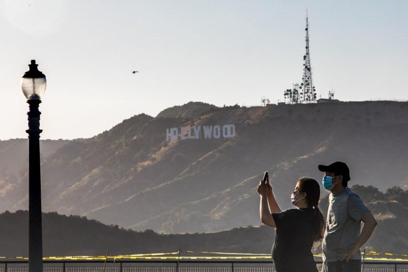 hollywood production cut in half