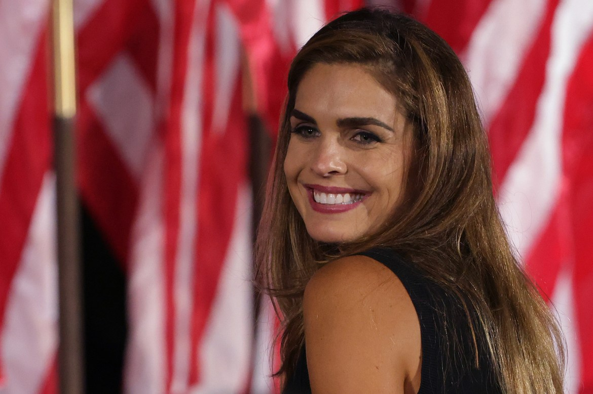 Trump aide Hope Hicks tests positive for COVID-19 after traveling with president 1