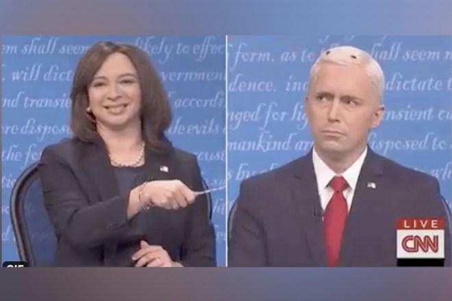 'SNL' somehow screwed up the VP debate fly