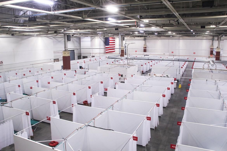 Wisconsin opens field hospital amid massive coronavirus surge 1