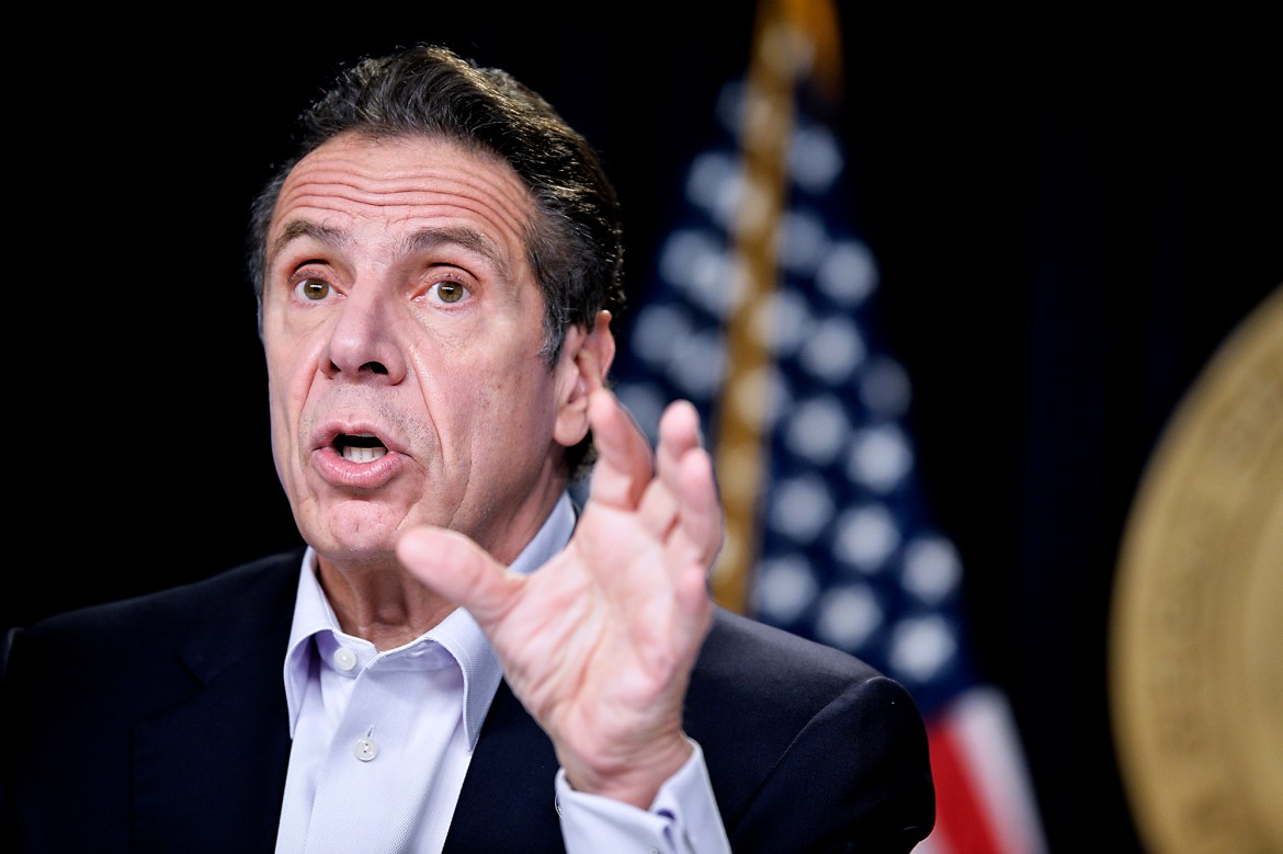 Gov. Cuomo says NY could hit COVID-19 rate in January that rivals early May 1