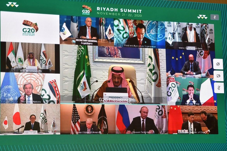 Trump beams into virtual G20 summit as world leaders discuss COVID-19 1
