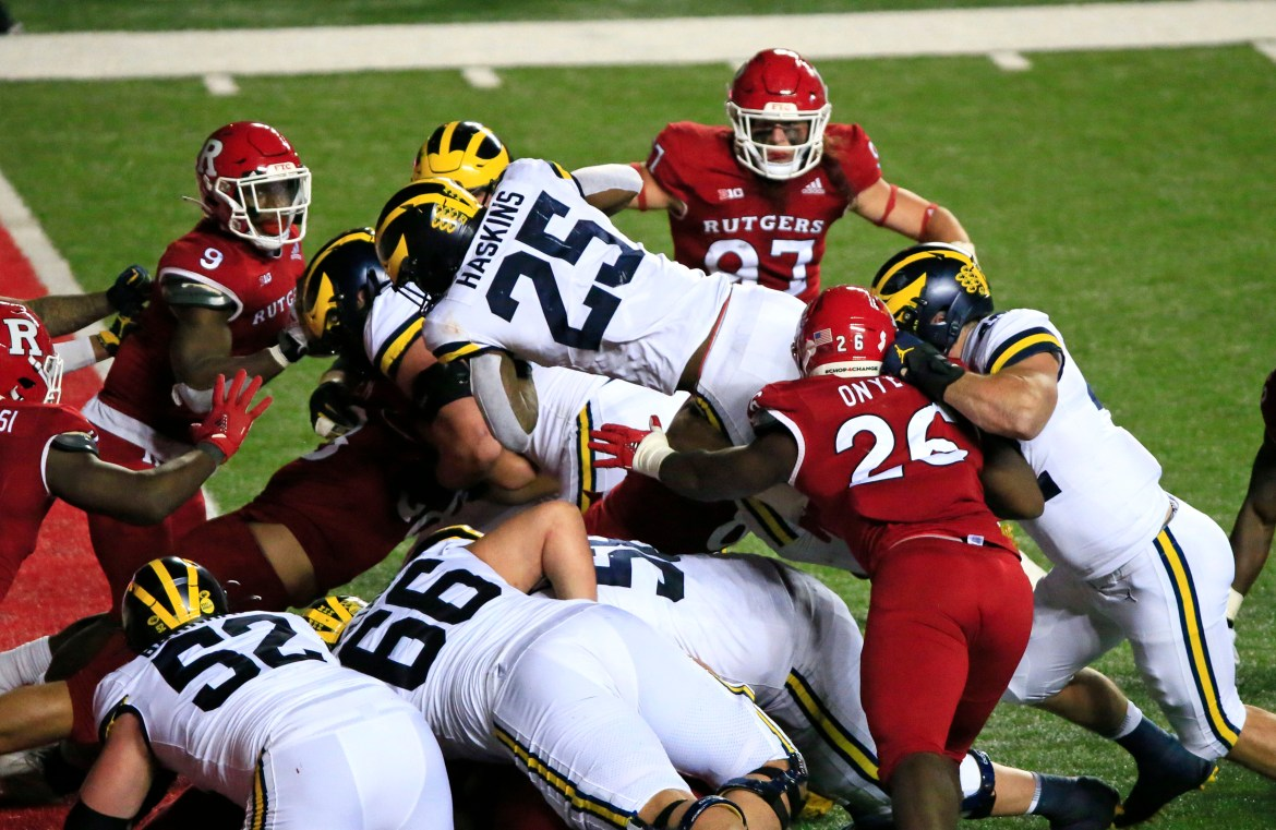Rutgers battles but falls to Michigan in triple overtime 1