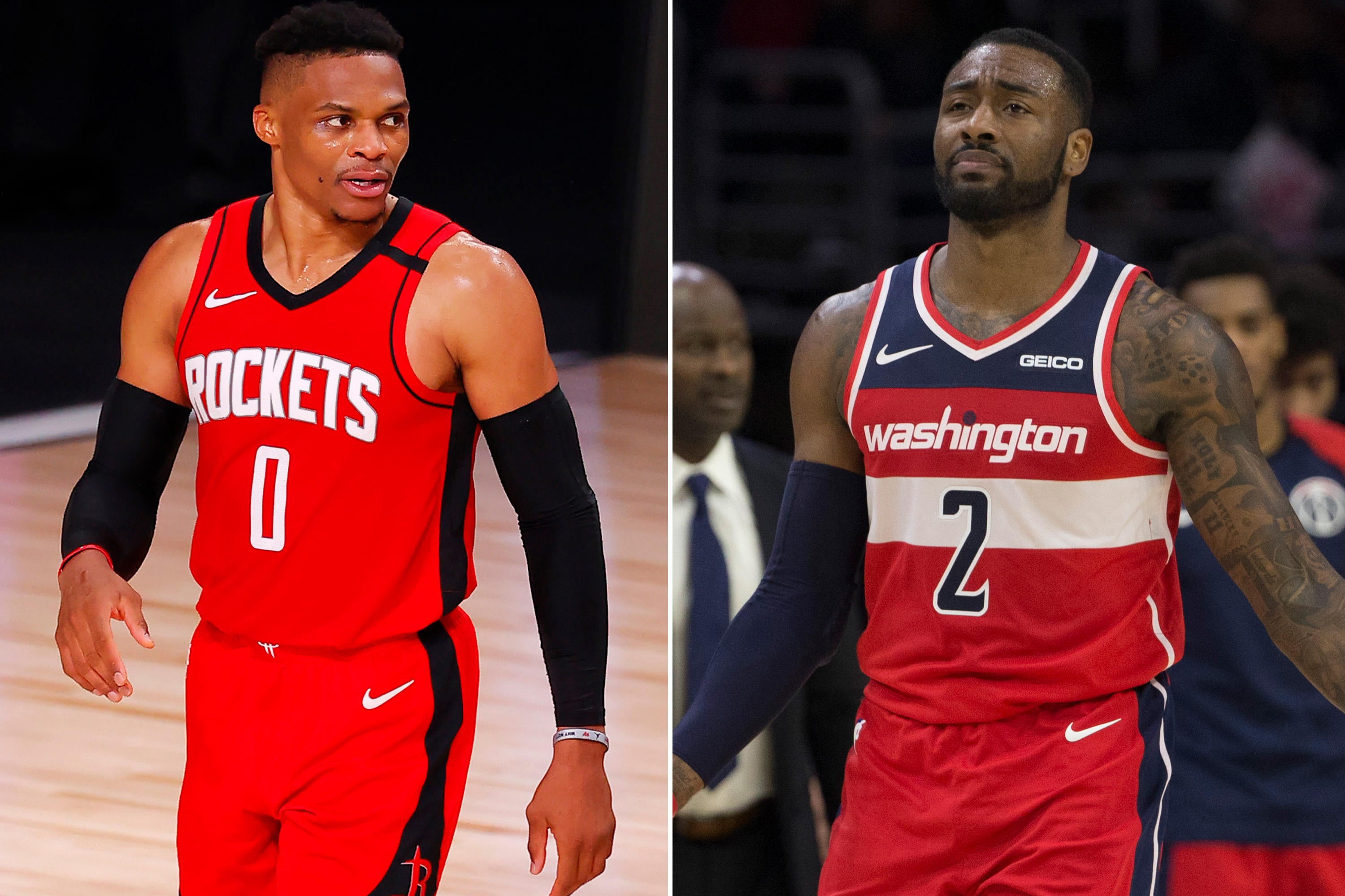 Rockets have talked Russell Westbrook-John Wall trade with Wizards