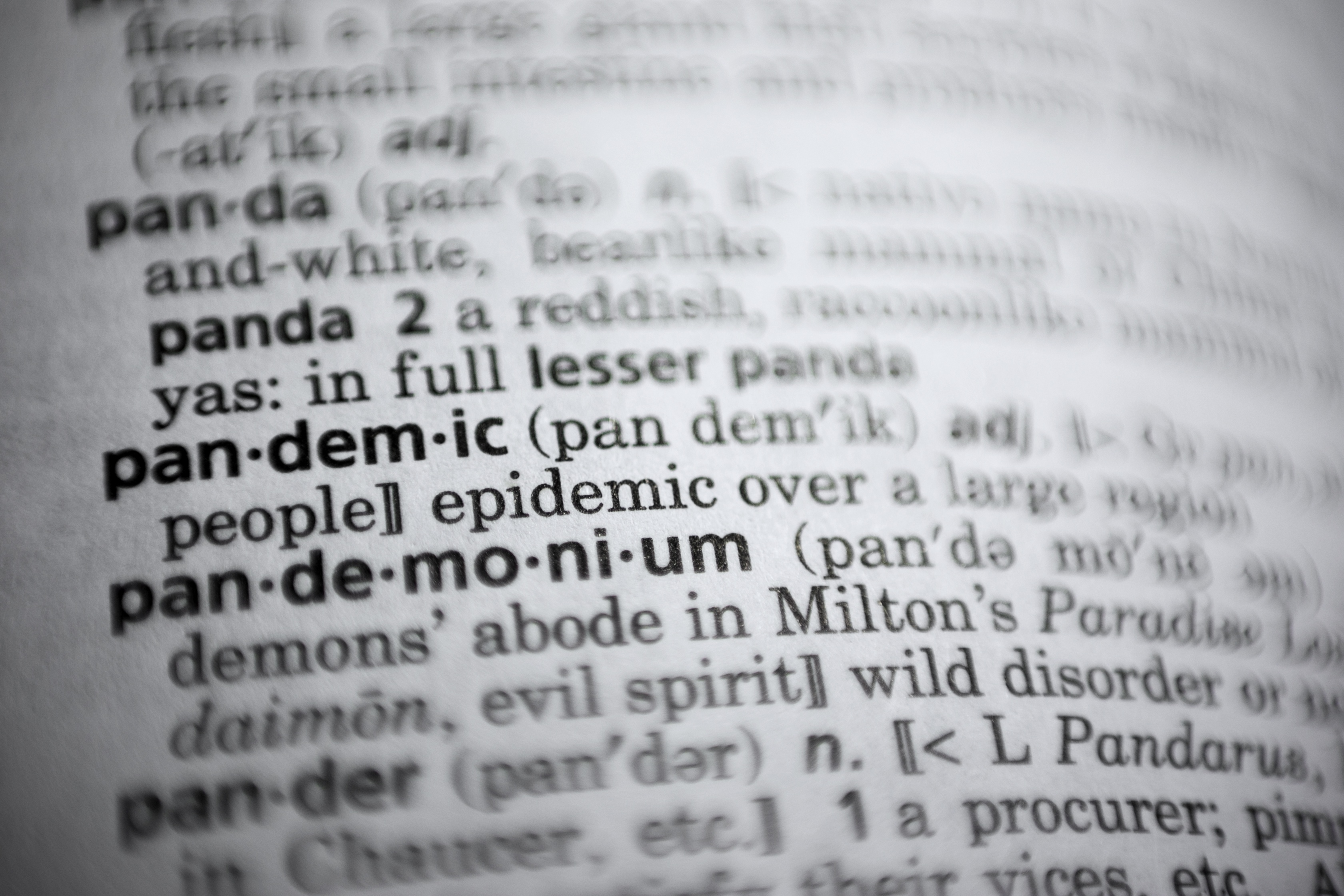 'Pandemic' named word of the year by Merriam-Webster