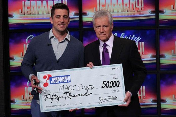 Alex-Trebek-Aaron-Rodgers-Celebrity-Jeopardy