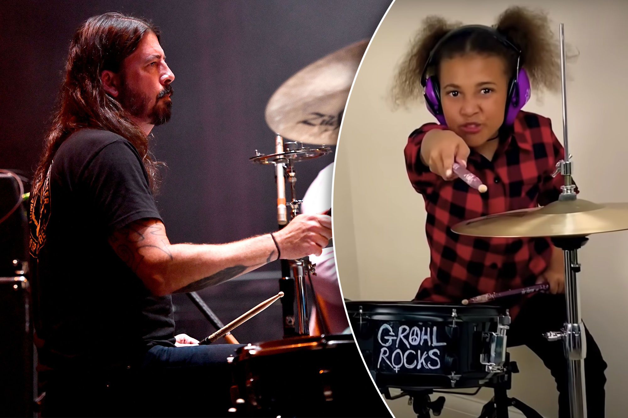 Foo Fighters' Dave Grohl invites 10-year-old girl to co ...