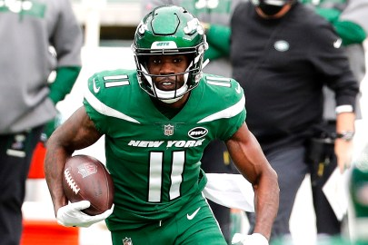 Jets' Denzel Mims progressing in injury-hampered rookie season
