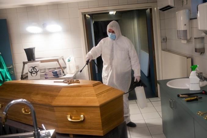 Virus Outbreak Belgium