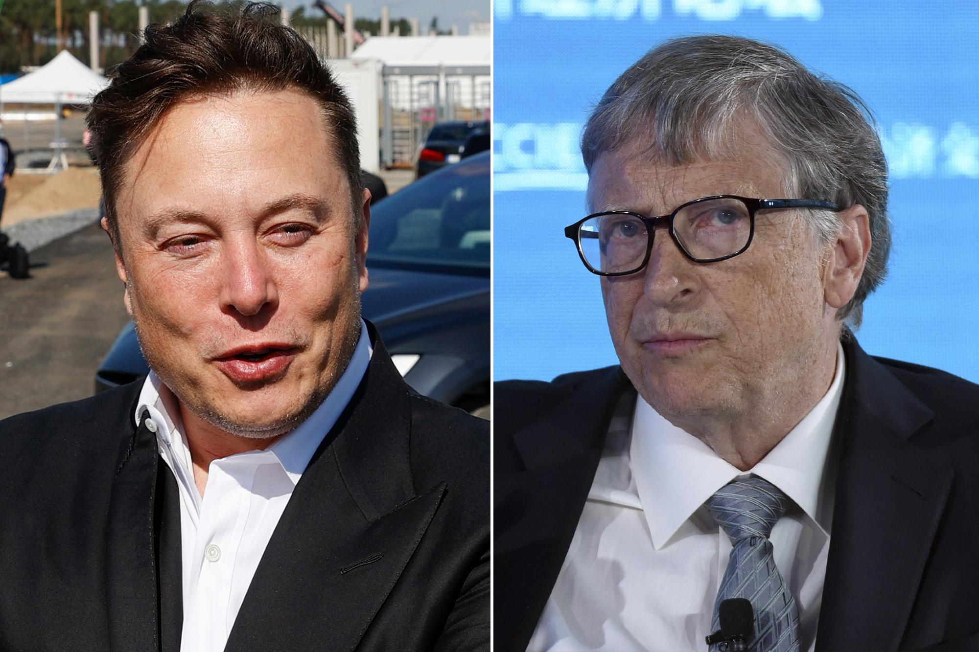 Elon Musk passes Bill Gates as world's second-richest person