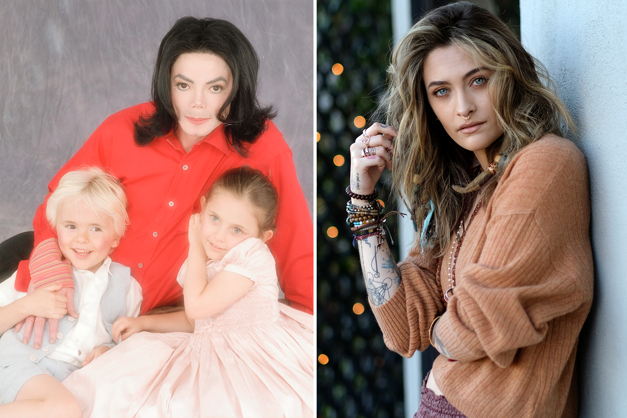 Paris Jackson and other kids of famous musicians