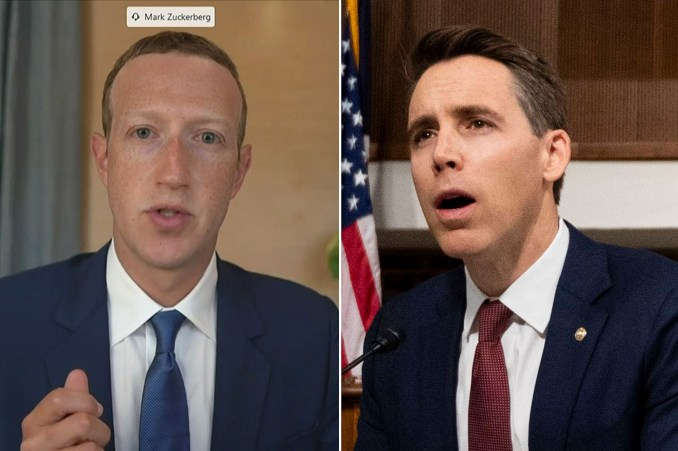 Zuckerberg grilled on claim of Facebook collab with Google, Twitter