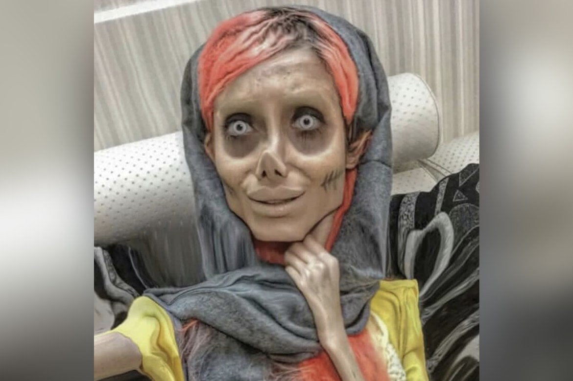 Instagram star 'Zombie Angelina Jolie' gets 10 years in Iranian prison 1