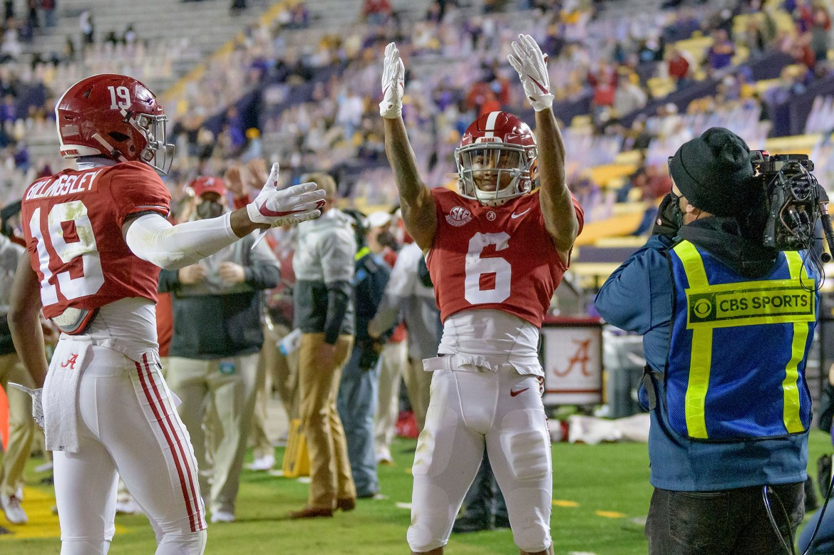 Alabama took different route to get national title swagger back 1