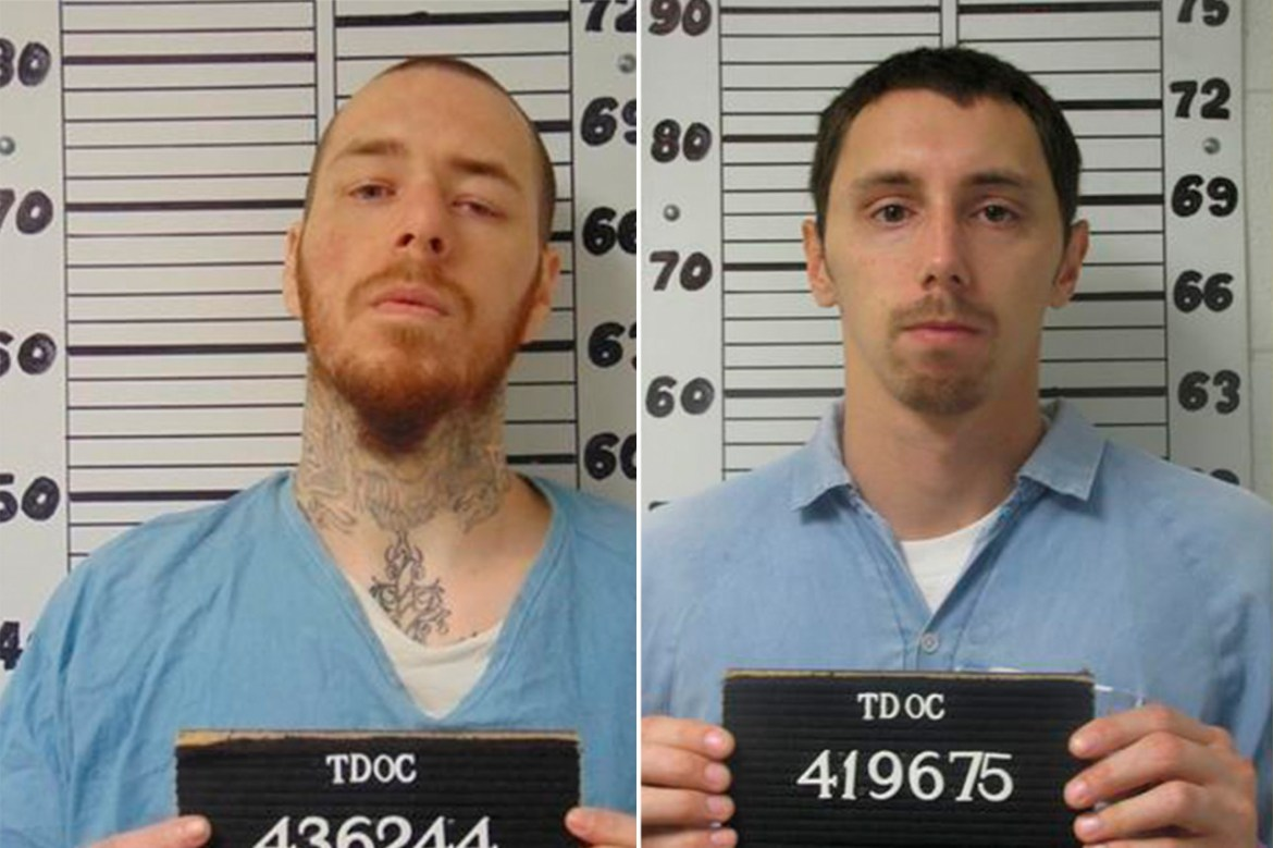 Two escaped inmates from Tennessee prison captured in Florida 1