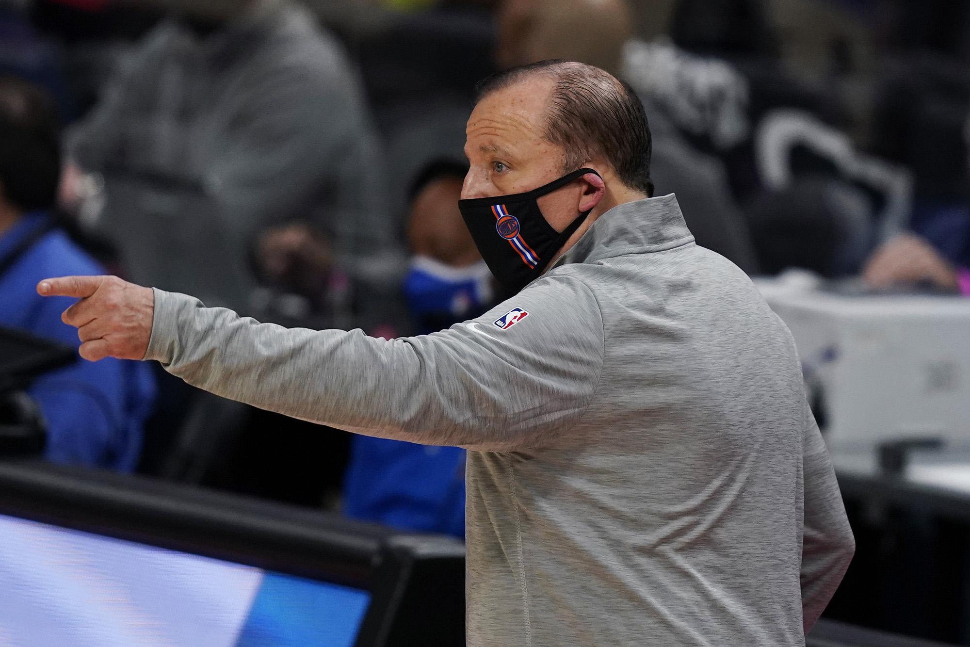 Tom Thibodeau already looks like a big Knicks upgrade