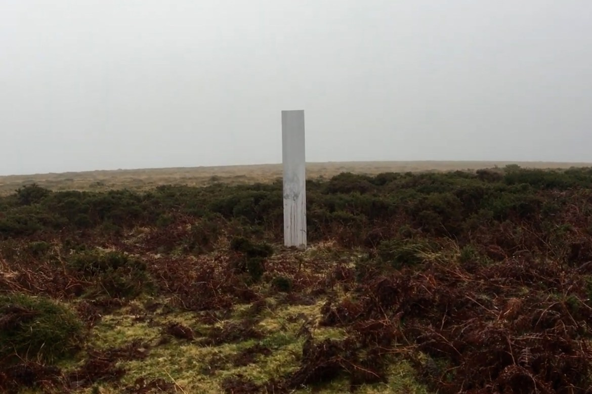 Another mystery monolith pops up in the UK 1