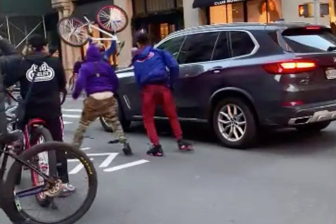 Bicycle hoodlums are the latest terror for New Yorkers to fear 1