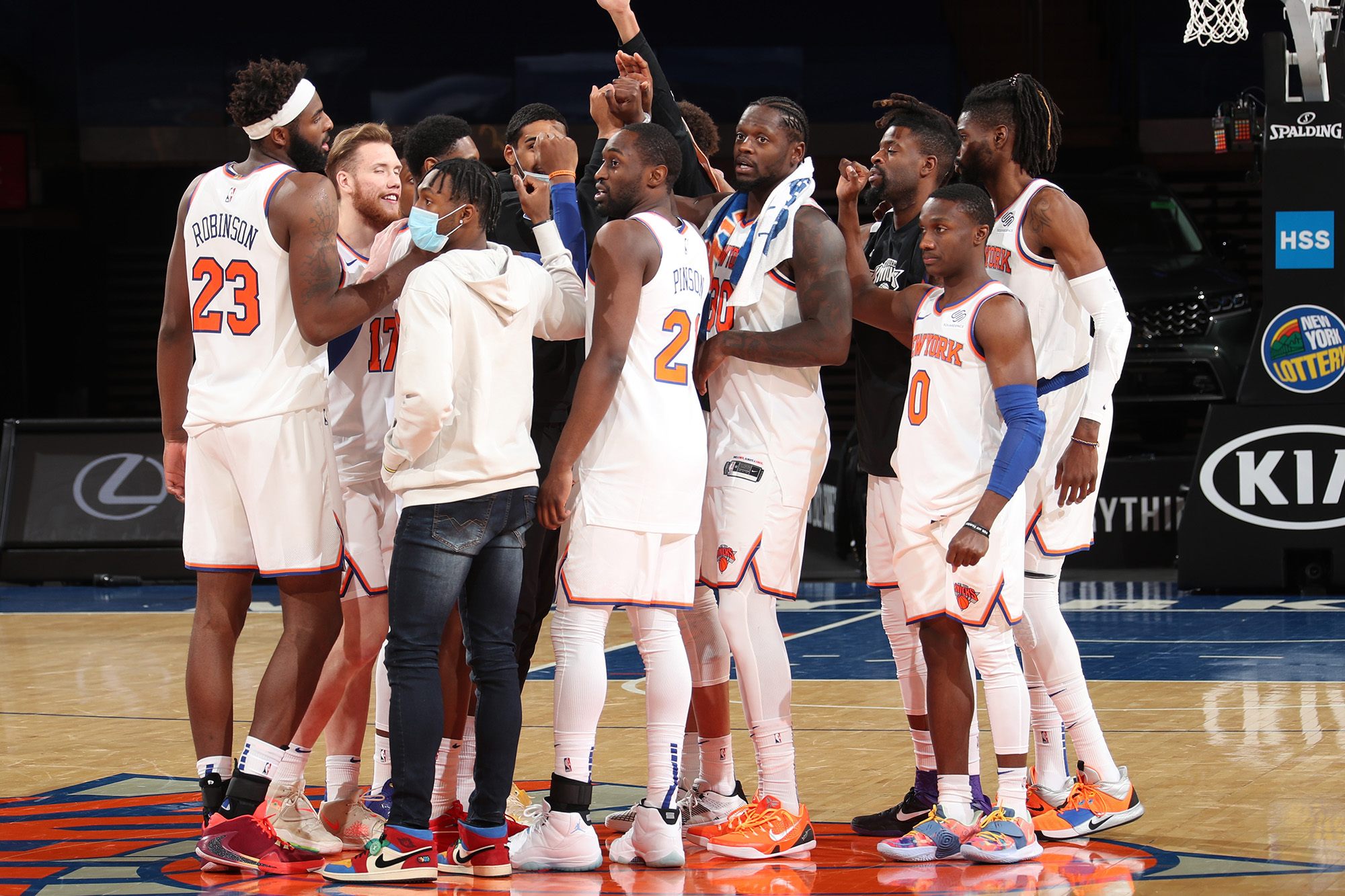 The Knicks needed this unexpected demolition of Bucks