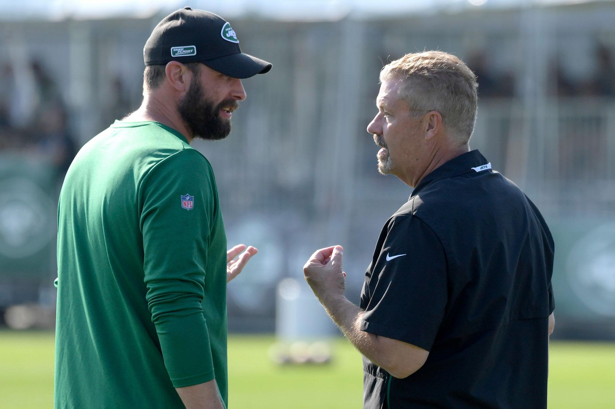 Jets' Adam Gase takes blame for Gregg Williams firing