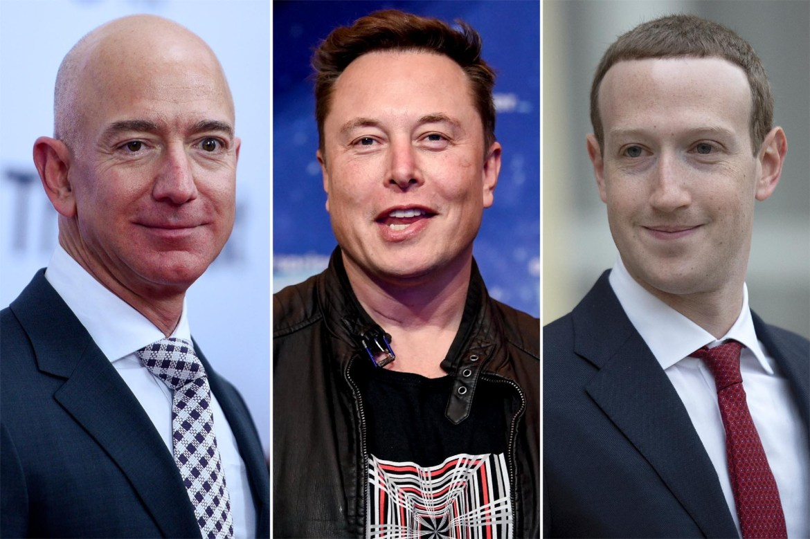 These billionaires' wealth ballooned by a record total in 2020 1