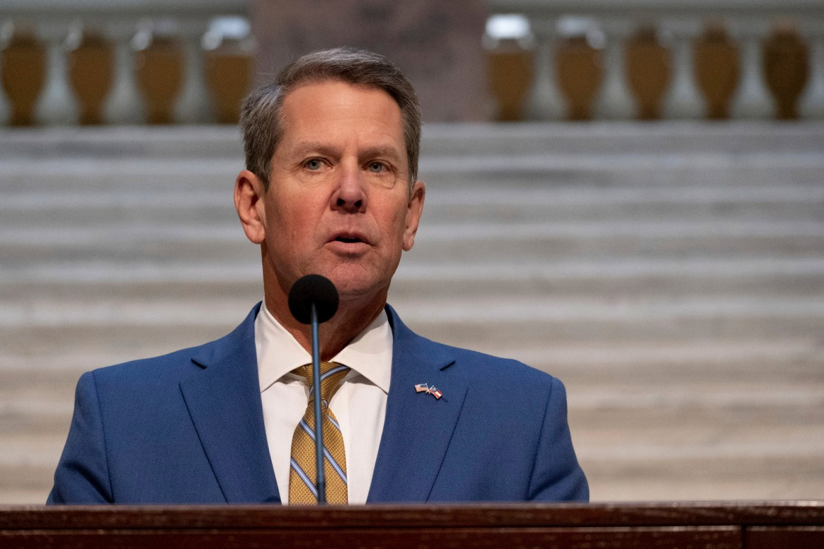 GA governor again rejects special session to overturn election results 1