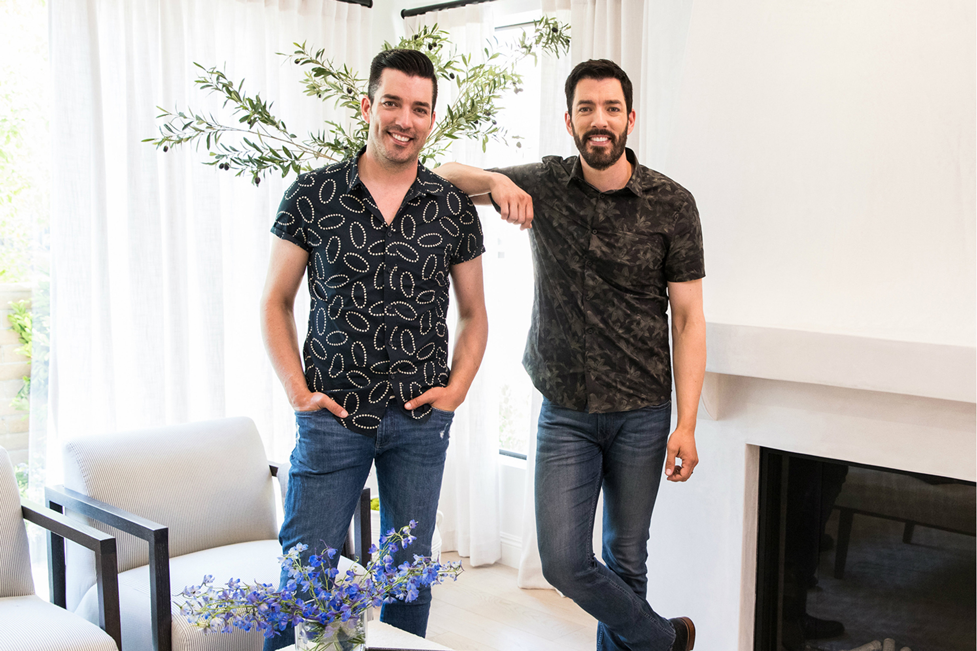 Drew and Jonathan Scott dish on 'Celebrity IOU'