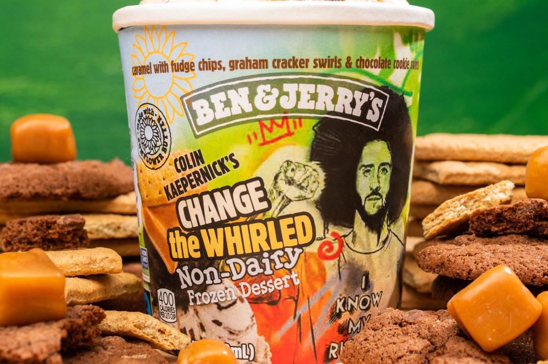 Colin Kaepernick gets vegan Ben & Jerry's ice cream flavor 1