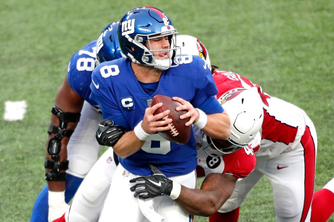 There was some good Daniel Jones news to come out of Giants disaster 1