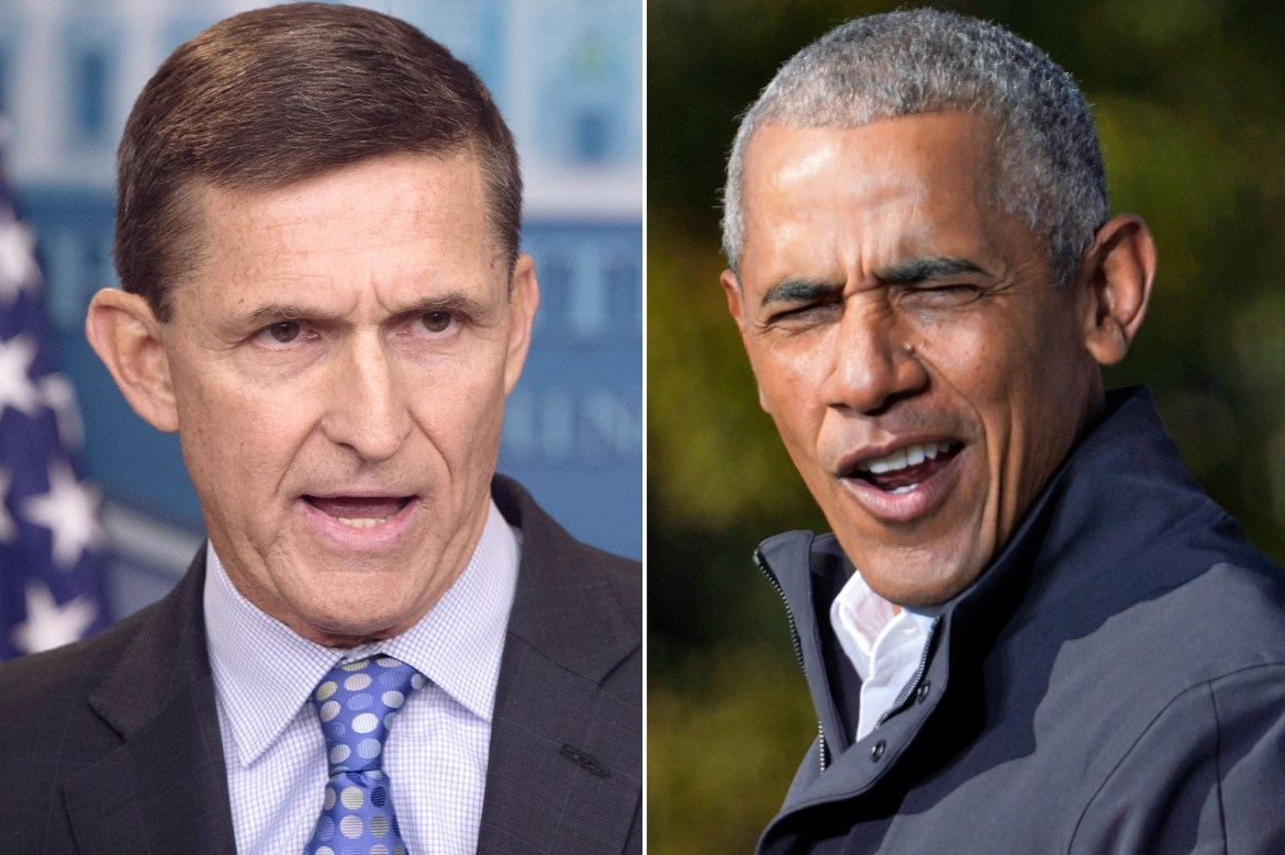 Mike Flynn says he 'put the fear of god' into Obama 1