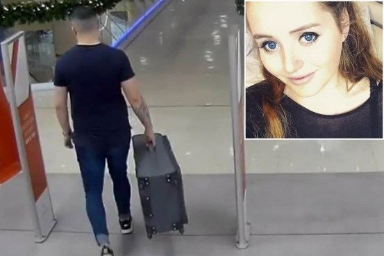 Grace Millane's killer filmed carrying the body in the suitcase
