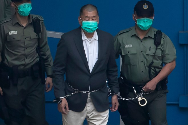 US officials go to bat for imprisoned Hong Kong tycoon Jimmy Lai