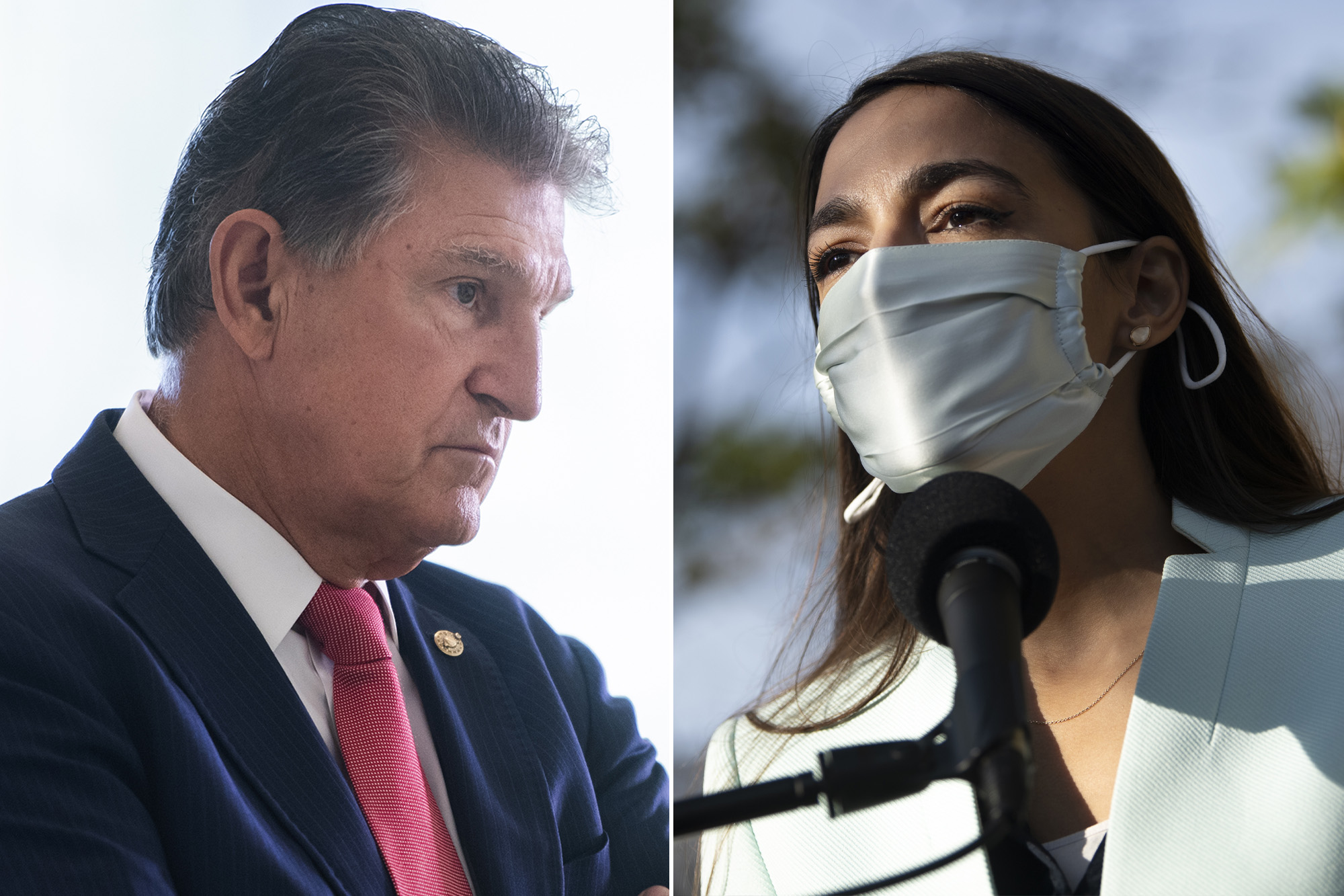 Sen. Joe Manchin knocks AOC amid ongoing feud