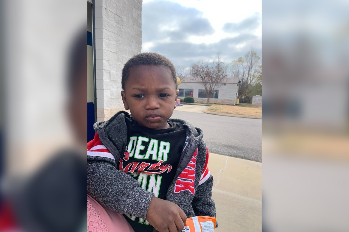 2-year-old boy abandoned at Mississippi Goodwill drop-off 1