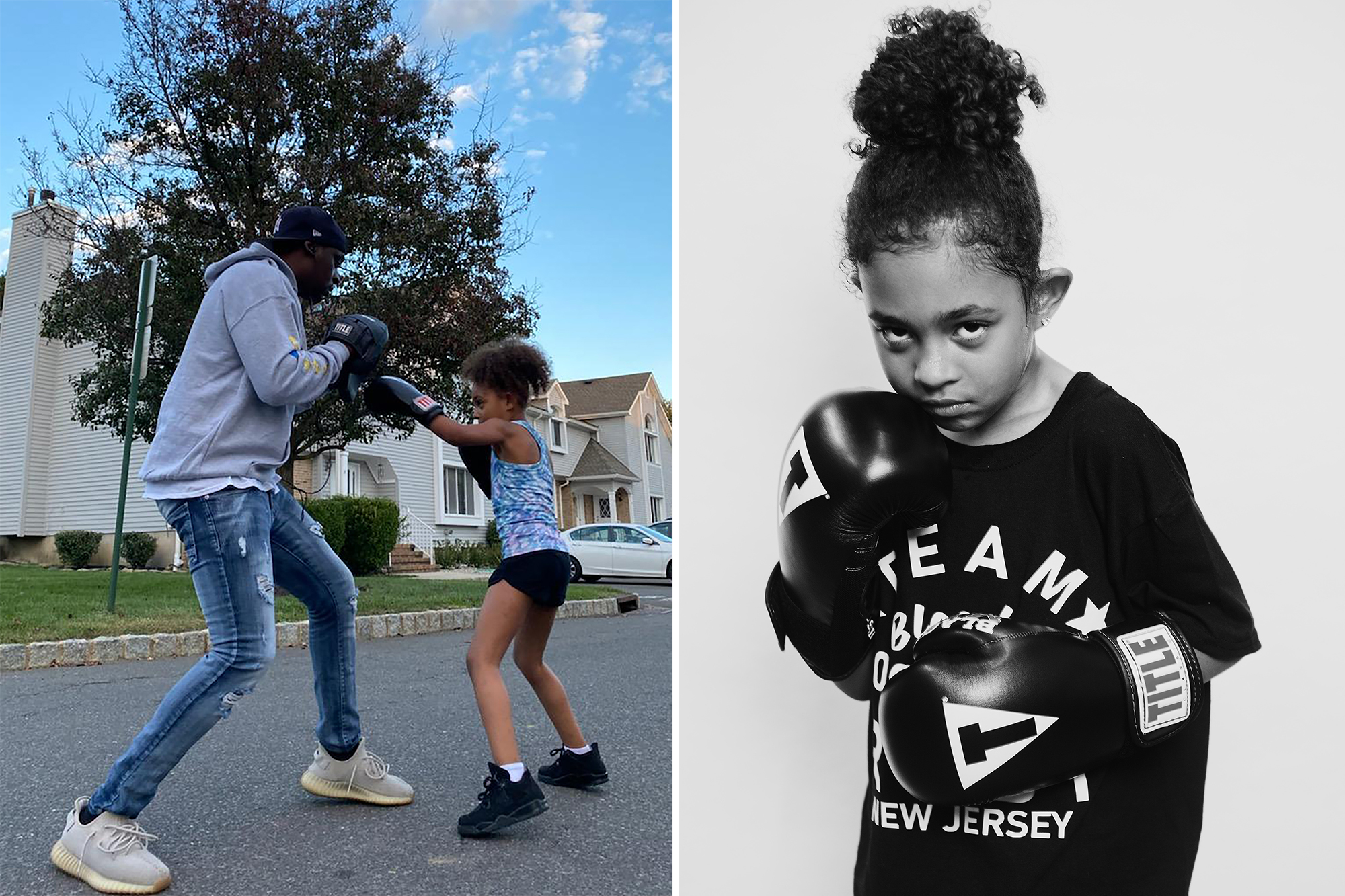 7-year-old boxer Ruby Tucker packs a punch