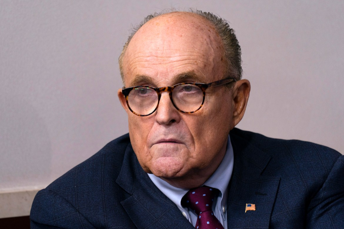 Rudy Giuliani discharged from hospital after COVID-19 bout 1