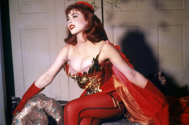Tina Lewis, 1950s.