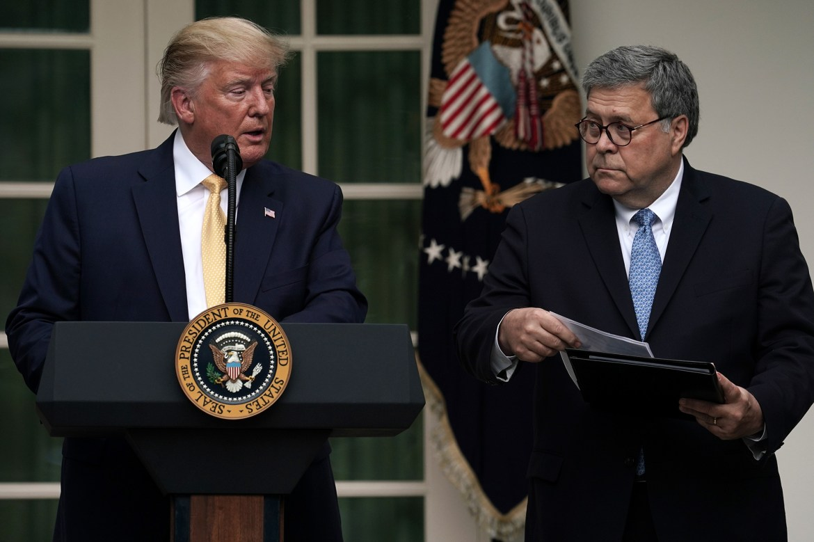 Trump says Bill Barr should have disclosed Hunter Biden probe during election 1