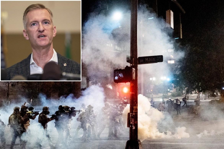 Portland Mayor Ted Wheeler vows to get tough with Antifa 1