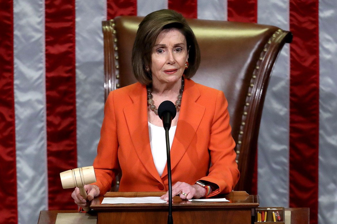 Nancy Pelosi re-elected Speaker of the House in tight race 1