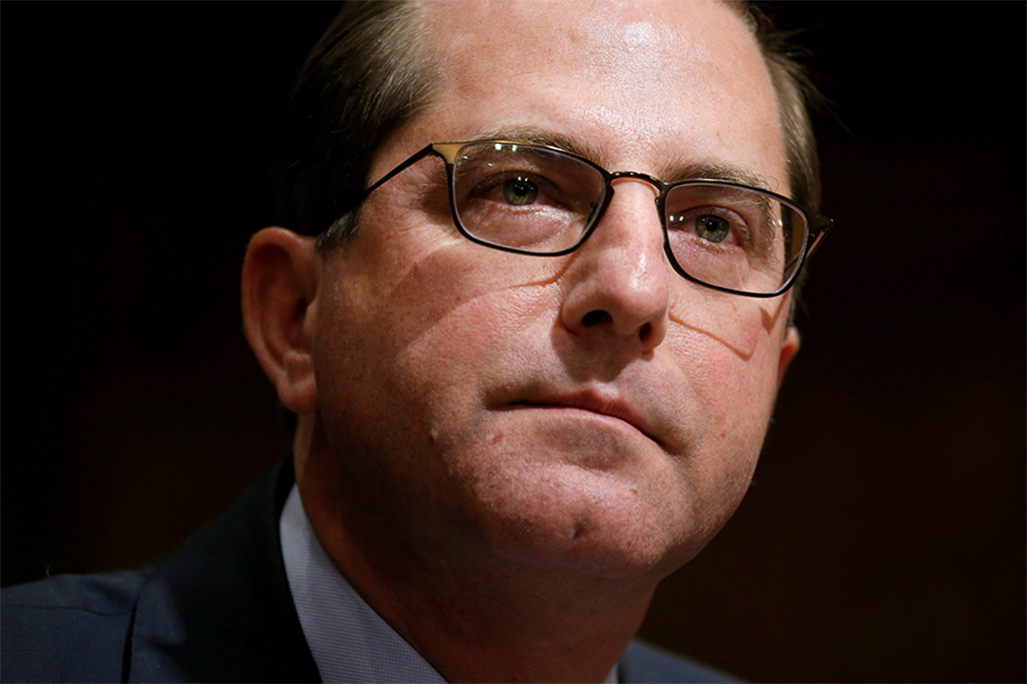 Alex Azar slams CNN for reporting resignation