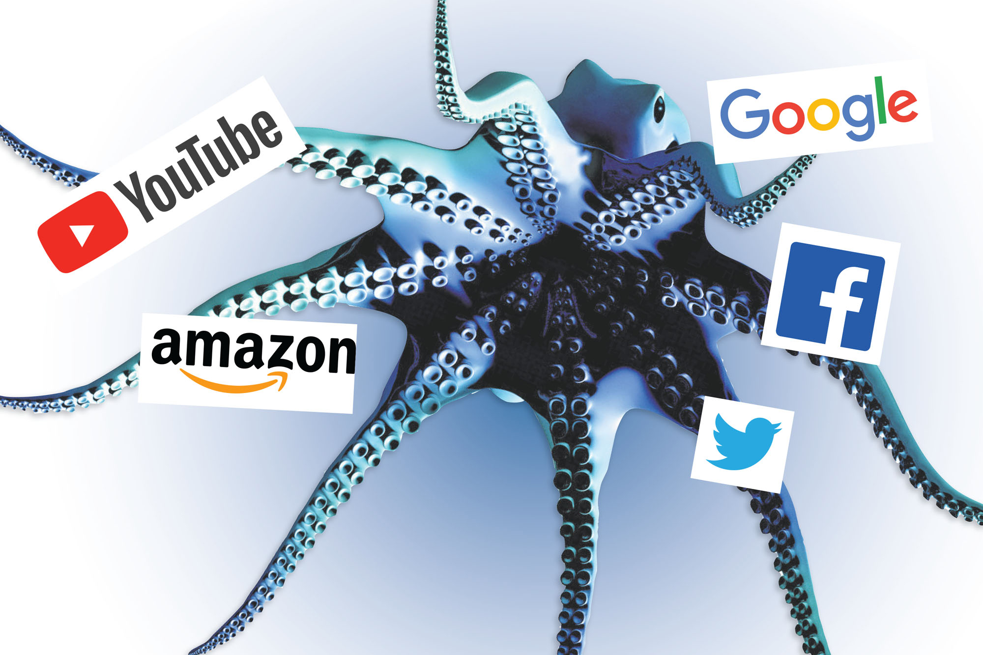 Octopus of Big Tech is strangling America - 247 News Around The World