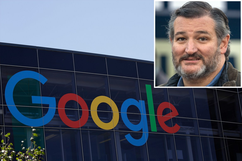 Ted Cruz rips 'dangerous' Google, 'brazen' Twitter over censorship, elections 1