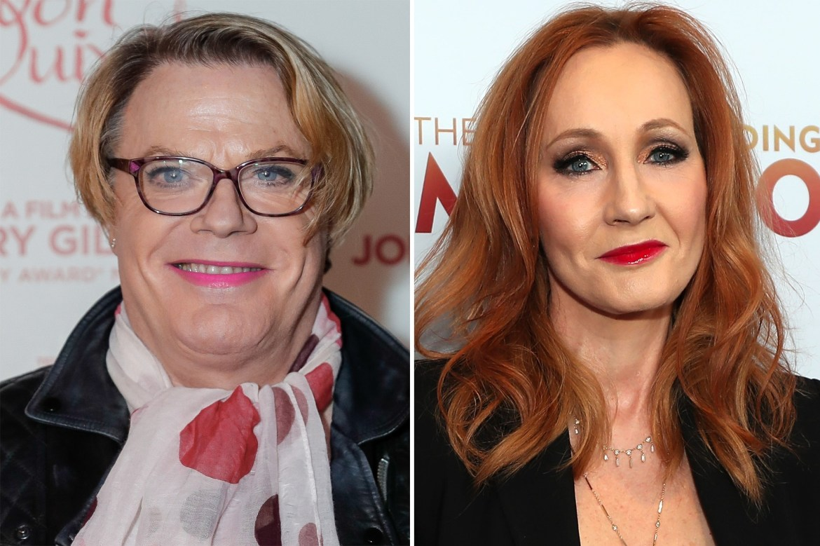 Eddie Izzard says she doesn't think J.K. Rowling is 'transphobic' 1